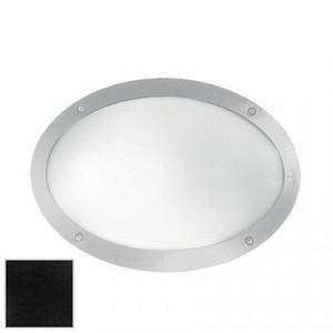 Ideal lux Maddi-1 AP1 - Applique ovale d'extérieur - Noir