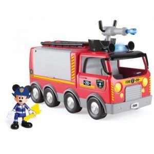 IMC Toys Camion de pompier de Mickey