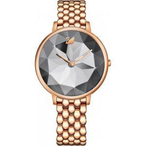 Swarovski Montre 5416023 - CRYSTAL LAKE Bracelet Acier Or rose Boitier Acier Or rose Cadran Noir Femme