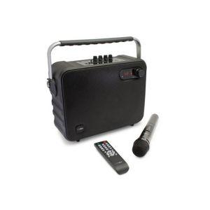 Caliber HPG517BT - Haut-parleur Bluetooth portatif FM karaoké