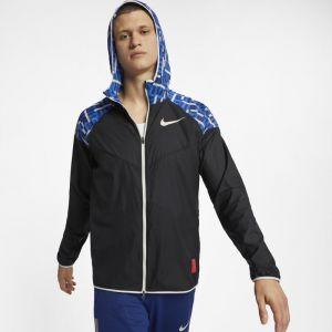 Nike Veste de running Windrunner pour Homme - Couleur Noir - Taille S