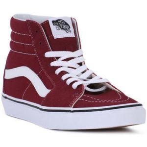 Vans Sk8 Hi chaussures bordeaux T. 43,0