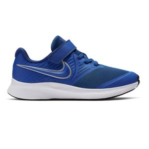 Nike Chaussures sport STAR RUNNER 2 (PSV) à lacets et scratch Bleu - Taille 33,5
