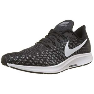Nike Air Zoom Pegasus 35, Sneakers Basses Homme, Multicolore (Black/White/Gunsmoke/Oil Grey 001), 42.5 EU