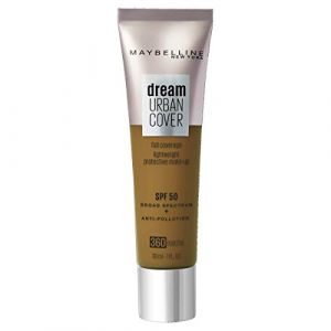 Maybelline Gemey Dream Urban Cover Foundation 360 Mocha (30ml)