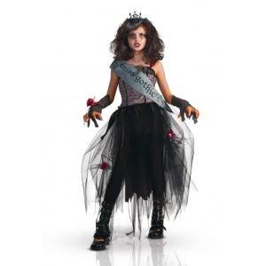 Déguisement Miss Gothic fille (5-7 ans)
