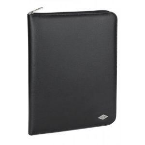 Wedo 58 14201 - Conférencier Basic, format A4, en simili cuir, noir