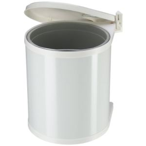 Hailo Poubelle salle de bain encastrable en plastique 15 L