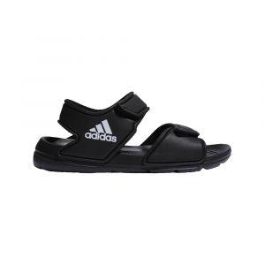 Adidas Altaswim C, Chaussure de Gymnastique Mixte Enfant, Noir De Base/Blanc Blanc/Noir De Base, 31.5 EU