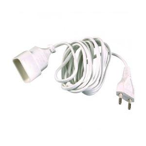 Dhome 243404 - Prolongateur câble méplat H03 VV-H 2F 2 x 0,75 mm² 3 m