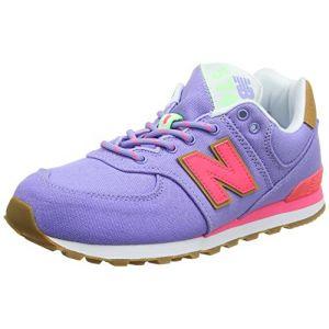 New Balance Gc574v1g, Baskets Mixte Enfant, Violet (Purple/Pink), 37 EU