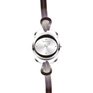 Ted Lapidus A0365R - Montre pour femme avec bracelet en cuir