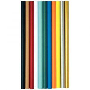 Maildor 95758C - Rouleau de papier kraft couleur, 65 g/m², 3m x 0,70m, coloris orange