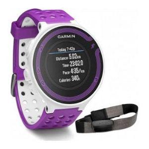 Garmin Forerunner 220 HRM - Montre cadiofréquencemètre GPS avec moniteur de FC haute qualité