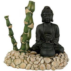 Zolux Décor diffuseur bouddha bambou pour bassin