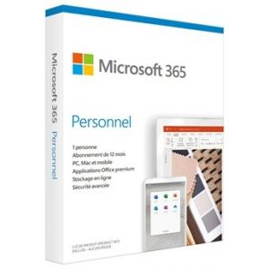 Logiciel 365 Personal French Sub 1YR France Only Medialess Save Now P6 [Windows]