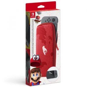 Nintendo Pochette de transport et protection d'écran Switch Super Mario Odyssey
