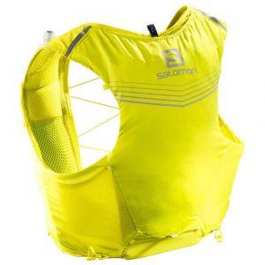 Salomon Sacs à dos Adv Skin 5 Set - Sulphur Spring / Citronell - Taille M