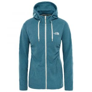 The North Face Sweatshirts Mezzaluna Full Zip Hoodie - Storm Blue Stripe - Taille XL