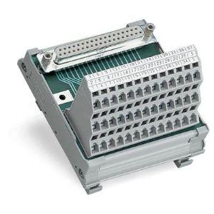 Wago 289-623 - Module interface 25 pôles avec Sub-Min-D,25 pôles connecteur femelle droit conditionnement 1 pc(s)