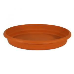 Plastiken Plateau rond Ø 70 cm pour pot rond - Terracotta