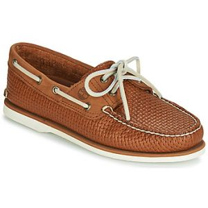 Timberland Chaussures bateau CLASSIC BOAT 2 EYE Marron - Taille 40,41,42,43
