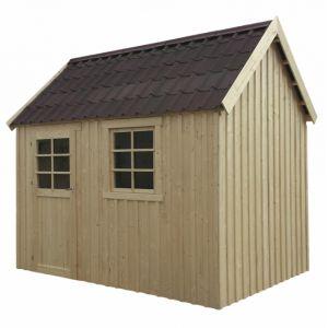 Solid Oleron - Abri de jardin en bois 6,12 m2