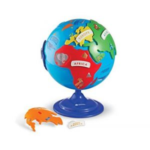 Learning Resources Globe puzzle de