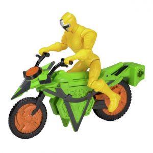 Bandai Véhicule Power Rangers Méga Morph Ninja jaune