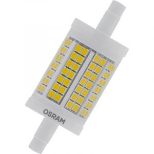 Osram LED R7s LED LINE R7S DIM 78.0 mm 100 11.5 W/2700K R7s 4058075432536 11.50 W = 100 W blanc chaud (Ø x L) 28 mm x 78 mm 1 pc(s)