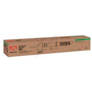 Ubbink Terminal horizontal Rolux Renofit 80/125 avec coude 60/100 Réf.229412