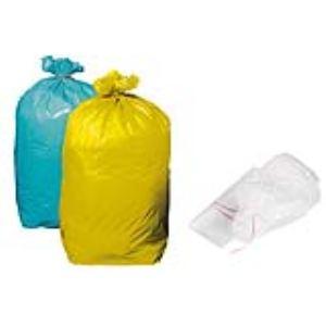 Mystbrand Carton de 200 sacs poubelle pour déchet standard 50 microns (110 L)