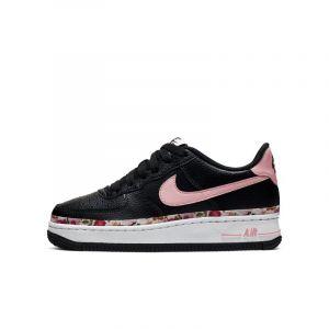 Nike Chaussures enfant Air Force 1 Enfant Noir - Taille 36,38,37 1/2,38 1/2