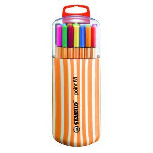 Stabilo Point 88 - Chevalet de 20 couleurs assorties