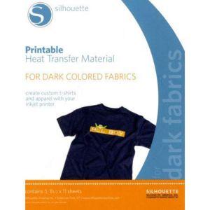 Silhouette Film pour transfert textile à imprimer 21 x 28 cm 2 pcs