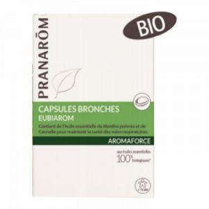 Pranarôm AromaForce Capsules bronches Eubiarom - 30 capsules