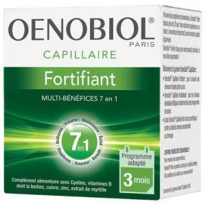 Oenobiol Capillaire - Fortifiant 7 en 1, 180 comprimés