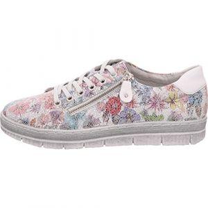 Remonte D5800, Sneakers Basses Femme, Multicolore (Ice-Multi/Bianco 93), 40 EU