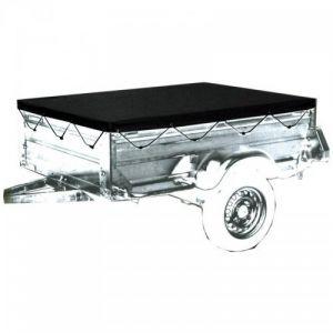 Bâche grise pour remorque Taille M 150 x 105 x 7 cm - P. OUTILLAGE