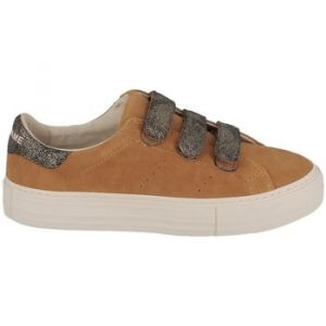 No Name Chaussures Basket à scratch ARCADE STRAPS GOAT SUEDE/HIT Safran jaune - Taille 36,37,38,39,40