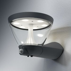 Osram ENDURA STYLE Lanterne applique extérieure Solaire 5 watt Gris
