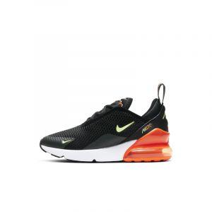 Nike Air Max 270 Noir Orange Et Vert Enfant 35 Running