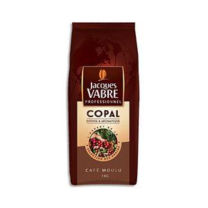 """Jacques vabre Café moulu """"Copal"""" - Paquet de 1 Kg"""