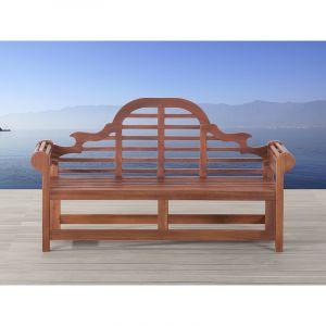 Beliani Toscana Marlboro - Banc de jardin en bois 180 cm