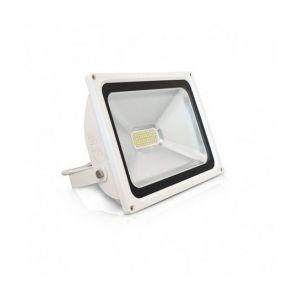 Vision-El Projecteur Plat Blanc 50W (450W) IP65 Led BLANC Froid 6000°K -