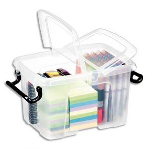 CEP Office Solutions Strata Boite de rangement Plastique 6 litres