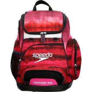 Speedo Teamster - Sac à dos natation - 35l rouge/noir Accessoires natation