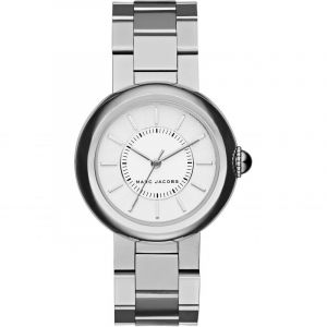 Marc Jacobs Women's Courtney MJ3464 Silver Stainless-Steel Quartz Dress Watch