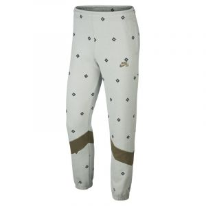 Nike Pantalon de survêtement de skateboard imprimé SB Dri-FIT pour Homme - Vert - Taille L - Male