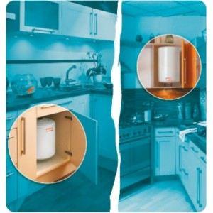 Thermor 231020 - Chauffe-eau électrique petite capacité 30 Litres sur évier